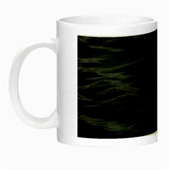 Dark Lake Ocean Pattern River Sea Night Luminous Mugs by Onesevenart