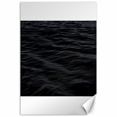 Dark Lake Ocean Pattern River Sea Canvas 20  X 30   by Onesevenart