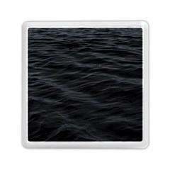 Dark Lake Ocean Pattern River Sea Memory Card Reader (square)  by Onesevenart
