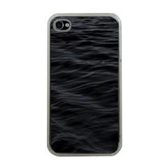 Dark Lake Ocean Pattern River Sea Apple Iphone 4 Case (clear) by Onesevenart