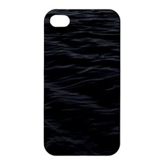 Dark Lake Ocean Pattern River Sea Apple Iphone 4/4s Hardshell Case by Onesevenart