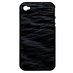 Dark Lake Ocean Pattern River Sea Apple Iphone 4/4s Hardshell Case (pc+silicone) by Onesevenart