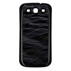Dark Lake Ocean Pattern River Sea Samsung Galaxy S3 Back Case (black) by Onesevenart