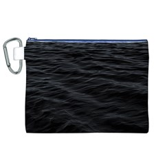 Dark Lake Ocean Pattern River Sea Canvas Cosmetic Bag (xl) by Onesevenart
