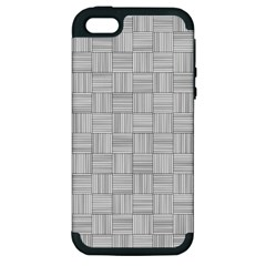 Flooring Household Pattern Apple Iphone 5 Hardshell Case (pc+silicone) by Onesevenart