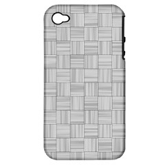 Flooring Household Pattern Apple Iphone 4/4s Hardshell Case (pc+silicone) by Onesevenart