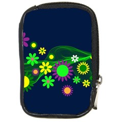 Flower Power Flowers Ornament Compact Camera Cases by Onesevenart
