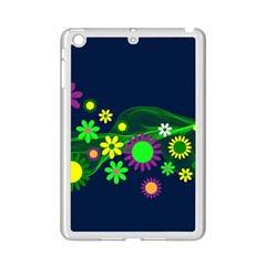 Flower Power Flowers Ornament Ipad Mini 2 Enamel Coated Cases by Onesevenart