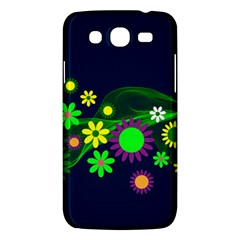Flower Power Flowers Ornament Samsung Galaxy Mega 5 8 I9152 Hardshell Case  by Onesevenart