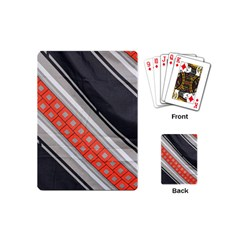 Bed Linen Microfibre Pattern Playing Cards (mini)  by Onesevenart