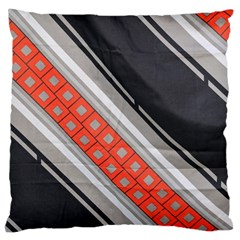 Bed Linen Microfibre Pattern Large Cushion Case (two Sides) by Onesevenart