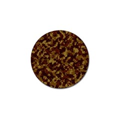 Camouflage Tarn Forest Texture Golf Ball Marker (10 Pack) by Onesevenart