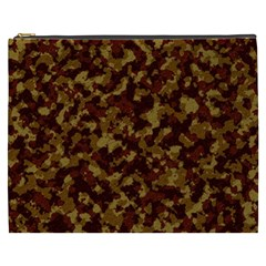 Camouflage Tarn Forest Texture Cosmetic Bag (xxxl)  by Onesevenart