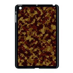 Camouflage Tarn Forest Texture Apple Ipad Mini Case (black) by Onesevenart