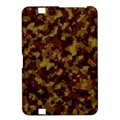 Camouflage Tarn Forest Texture Kindle Fire Hd 8 9  by Onesevenart