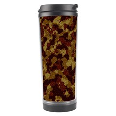 Camouflage Tarn Forest Texture Travel Tumbler by Onesevenart