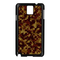 Camouflage Tarn Forest Texture Samsung Galaxy Note 3 N9005 Case (black) by Onesevenart