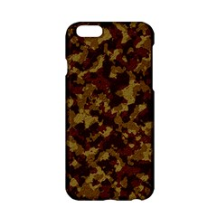 Camouflage Tarn Forest Texture Apple Iphone 6/6s Hardshell Case by Onesevenart