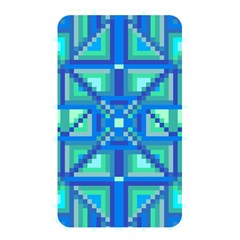 Grid Geometric Pattern Colorful Memory Card Reader by Onesevenart