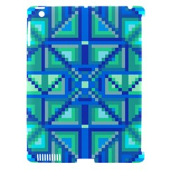 Grid Geometric Pattern Colorful Apple Ipad 3/4 Hardshell Case (compatible With Smart Cover) by Onesevenart
