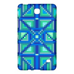 Grid Geometric Pattern Colorful Samsung Galaxy Tab 4 (8 ) Hardshell Case  by Onesevenart