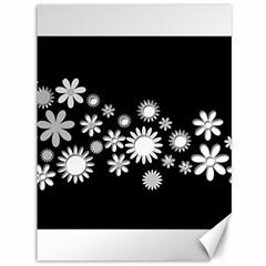 Flower Power Flowers Ornament Canvas 36  X 48   by Onesevenart