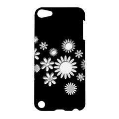 Flower Power Flowers Ornament Apple Ipod Touch 5 Hardshell Case by Onesevenart