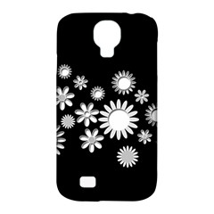 Flower Power Flowers Ornament Samsung Galaxy S4 Classic Hardshell Case (pc+silicone) by Onesevenart