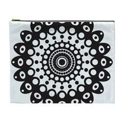 Mandala Geometric Symbol Pattern Cosmetic Bag (xl) by Onesevenart