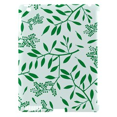 Leaves Foliage Green Wallpaper Apple Ipad 3/4 Hardshell Case (compatible With Smart Cover) by Onesevenart