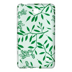 Leaves Foliage Green Wallpaper Samsung Galaxy Tab 4 (8 ) Hardshell Case  by Onesevenart