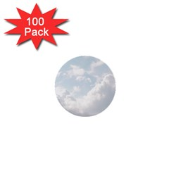 Light Nature Sky Sunny Clouds 1  Mini Buttons (100 Pack)  by Onesevenart