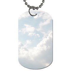 Light Nature Sky Sunny Clouds Dog Tag (two Sides) by Onesevenart