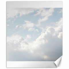 Light Nature Sky Sunny Clouds Canvas 8  X 10  by Onesevenart