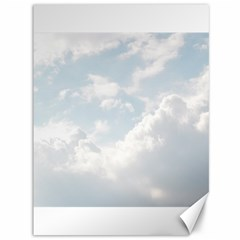 Light Nature Sky Sunny Clouds Canvas 36  X 48   by Onesevenart