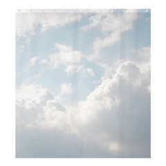 Light Nature Sky Sunny Clouds Shower Curtain 66  X 72  (large)  by Onesevenart