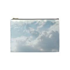 Light Nature Sky Sunny Clouds Cosmetic Bag (medium)  by Onesevenart