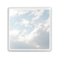 Light Nature Sky Sunny Clouds Memory Card Reader (square)  by Onesevenart