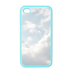 Light Nature Sky Sunny Clouds Apple Iphone 4 Case (color) by Onesevenart