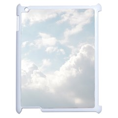 Light Nature Sky Sunny Clouds Apple Ipad 2 Case (white) by Onesevenart