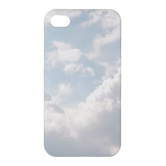 Light Nature Sky Sunny Clouds Apple Iphone 4/4s Hardshell Case by Onesevenart