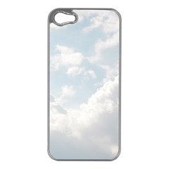 Light Nature Sky Sunny Clouds Apple Iphone 5 Case (silver) by Onesevenart