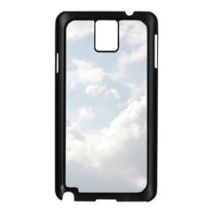 Light Nature Sky Sunny Clouds Samsung Galaxy Note 3 N9005 Case (black) by Onesevenart