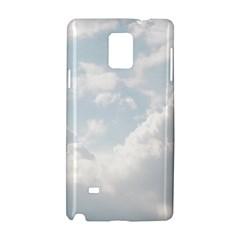 Light Nature Sky Sunny Clouds Samsung Galaxy Note 4 Hardshell Case by Onesevenart