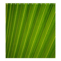 Green Leaf Pattern Plant Shower Curtain 66  X 72  (large)  by Onesevenart