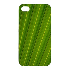 Green Leaf Pattern Plant Apple Iphone 4/4s Hardshell Case by Onesevenart