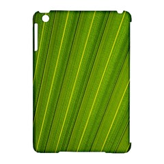 Green Leaf Pattern Plant Apple Ipad Mini Hardshell Case (compatible With Smart Cover) by Onesevenart