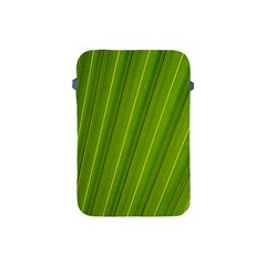 Green Leaf Pattern Plant Apple Ipad Mini Protective Soft Cases by Onesevenart