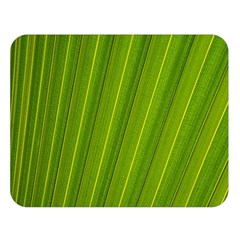 Green Leaf Pattern Plant Double Sided Flano Blanket (large)  by Onesevenart