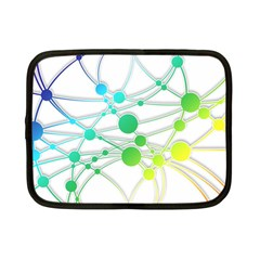 Network Connection Structure Knot Netbook Case (small)  by Onesevenart